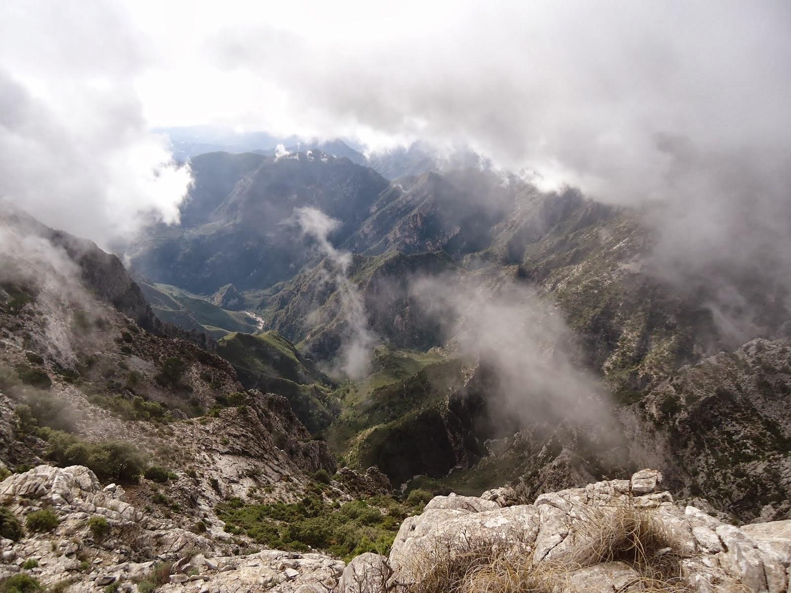 Tajos del Sol (Sierra de Tejeda y Almijara)
