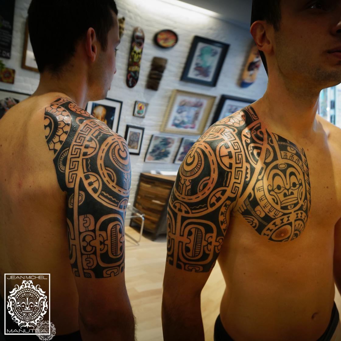 tatouage polynesien tribal - Tatouage Maori Découvrez les plus beaux modèles de