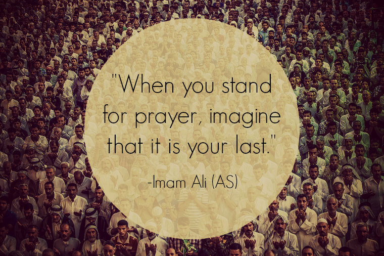 When You Stand  for prayer, imagine that its you last