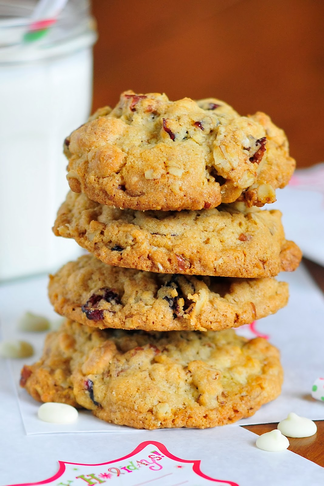 Simply Gourmet: Cranberry and White Chocolate Chip Cookies