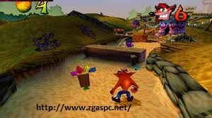 Free Download Game Crash Bandicoot Warped 3 PS1 For PC