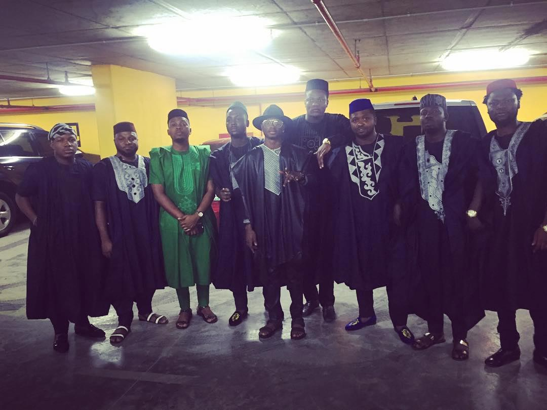 Making Sense: Check Out What The Entire YBNL Gang Wore To The Headies (Photo)