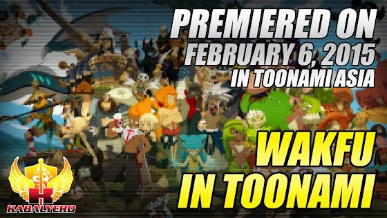 Wakfu In Toonami Asia, Premiered On February 6, 2015
