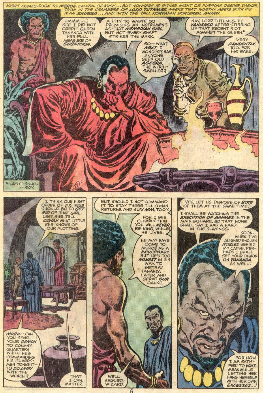 Conan the Barbarian (1970) Issue #107 #119 - English 6