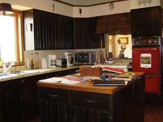Dark Kitchen Cabinets Style