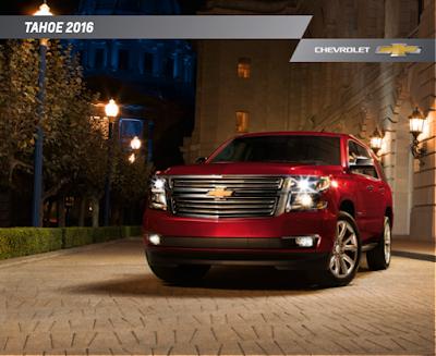 Downloadable 2016 Chevrolet Tahoe Brochure