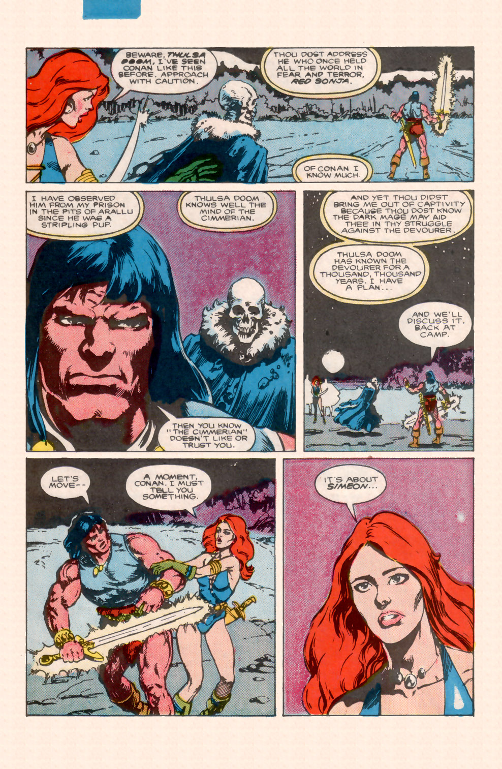 Conan the Barbarian (1970) Issue #200 #212 - English 9