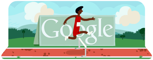 Google Doodles - Olympic Hurdles 2012