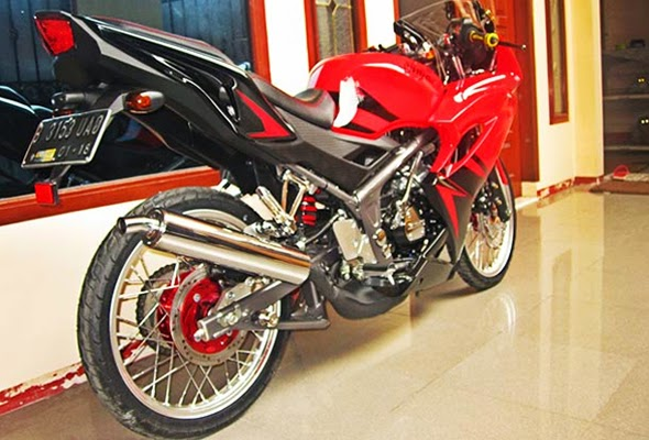 Top modifikasi ninja r super kips