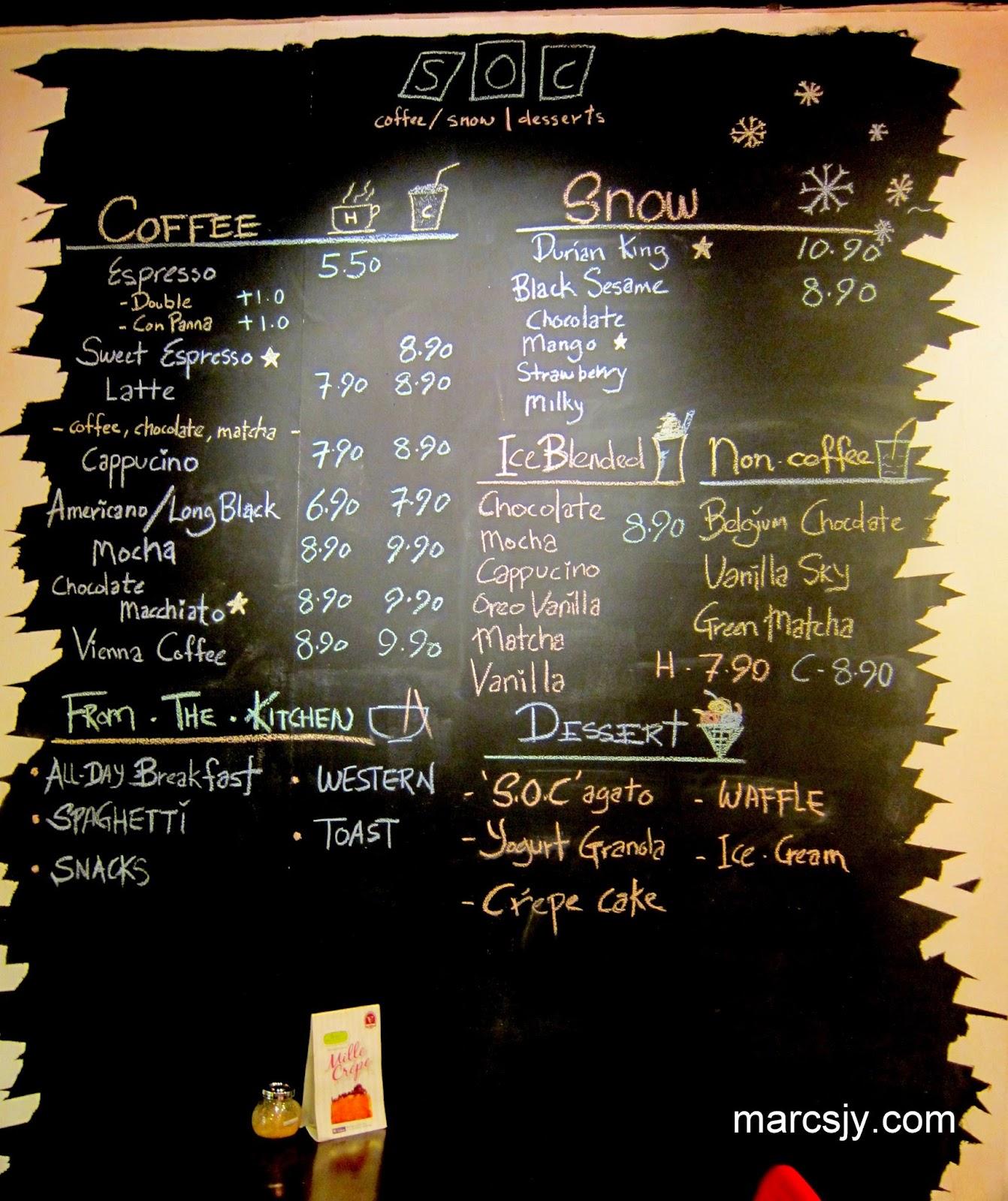 S.O.C Cafe at Desa Setapak, Wangsa Maju
