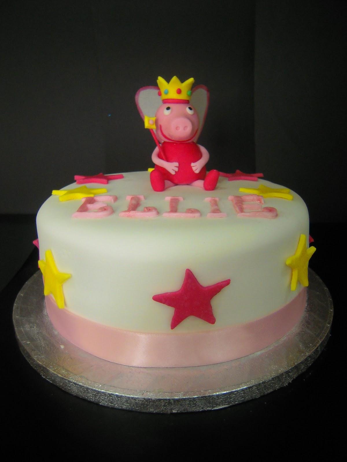 Eileen Atkinsons Celebration Cakes Peppa Pig Fairy Princess Cake