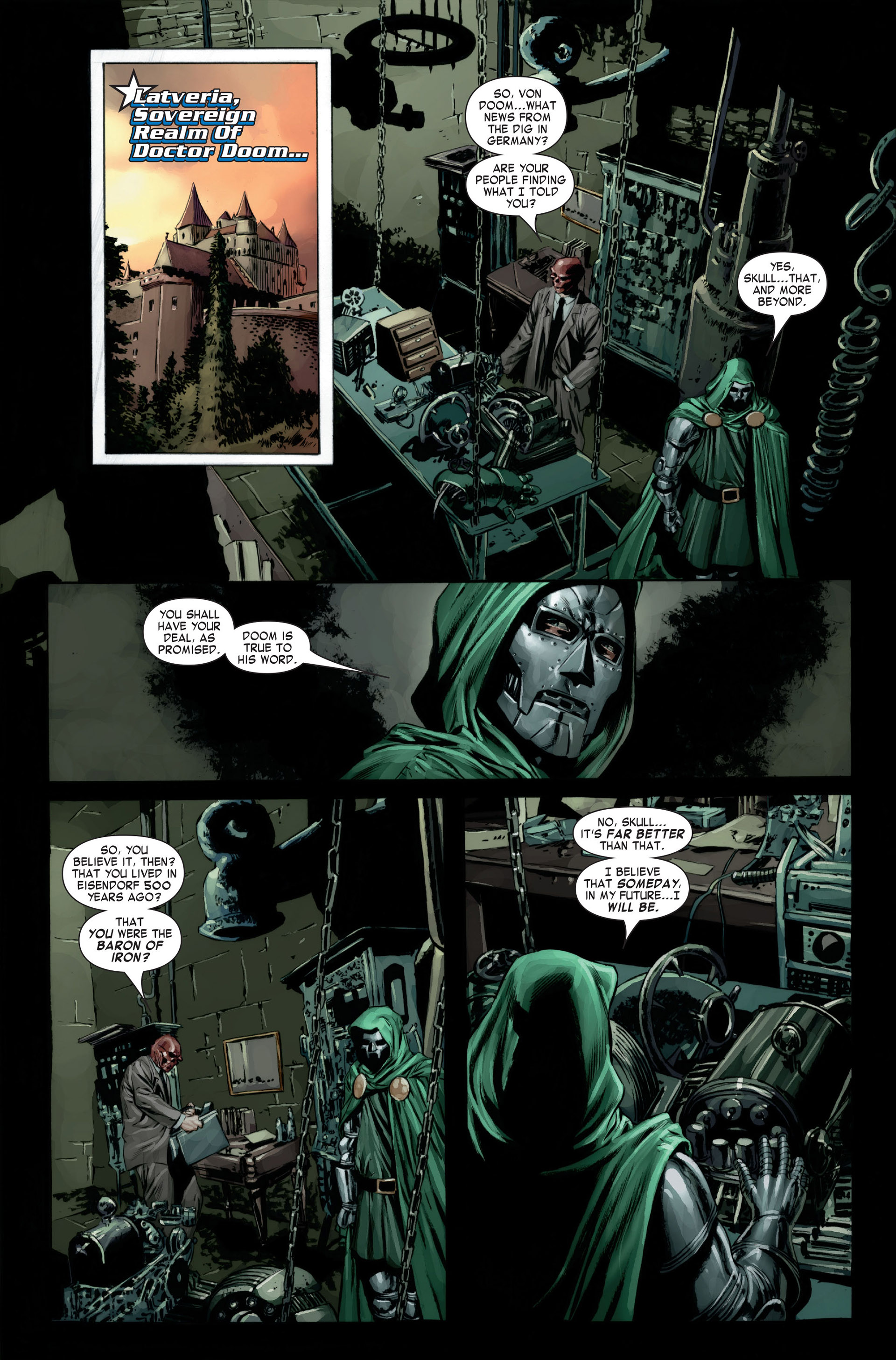 Captain America (2005) Issue #23 #23 - English 22