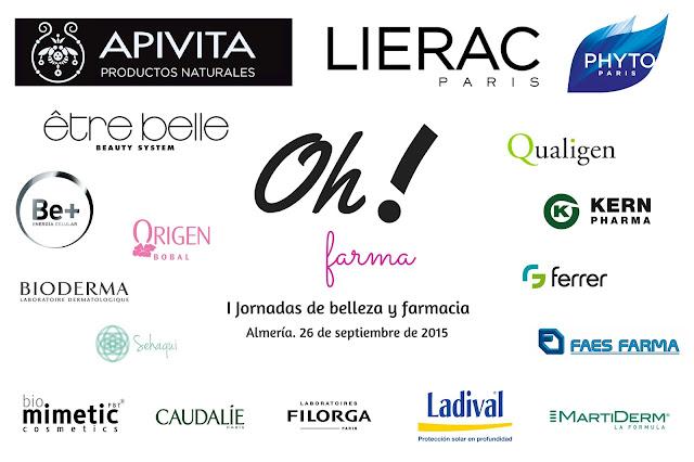 """Laboratorios participantes en la  I Jornada de Belleza y Farmacia """"Oh! farma"""""""