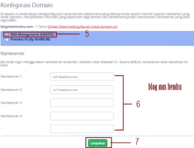 Konfigurasi Domain - Blog Mas Hendra