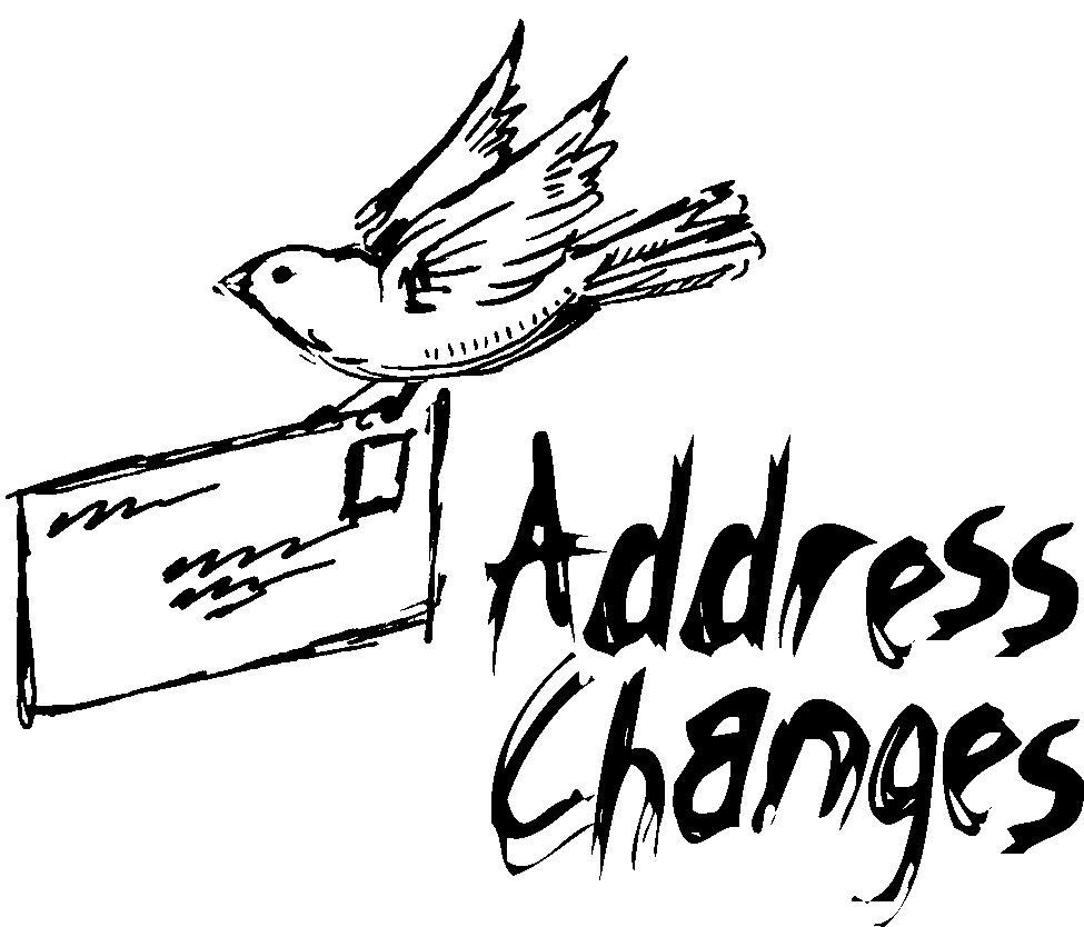 Free Clip Art Address Change  Free Change Of Address
