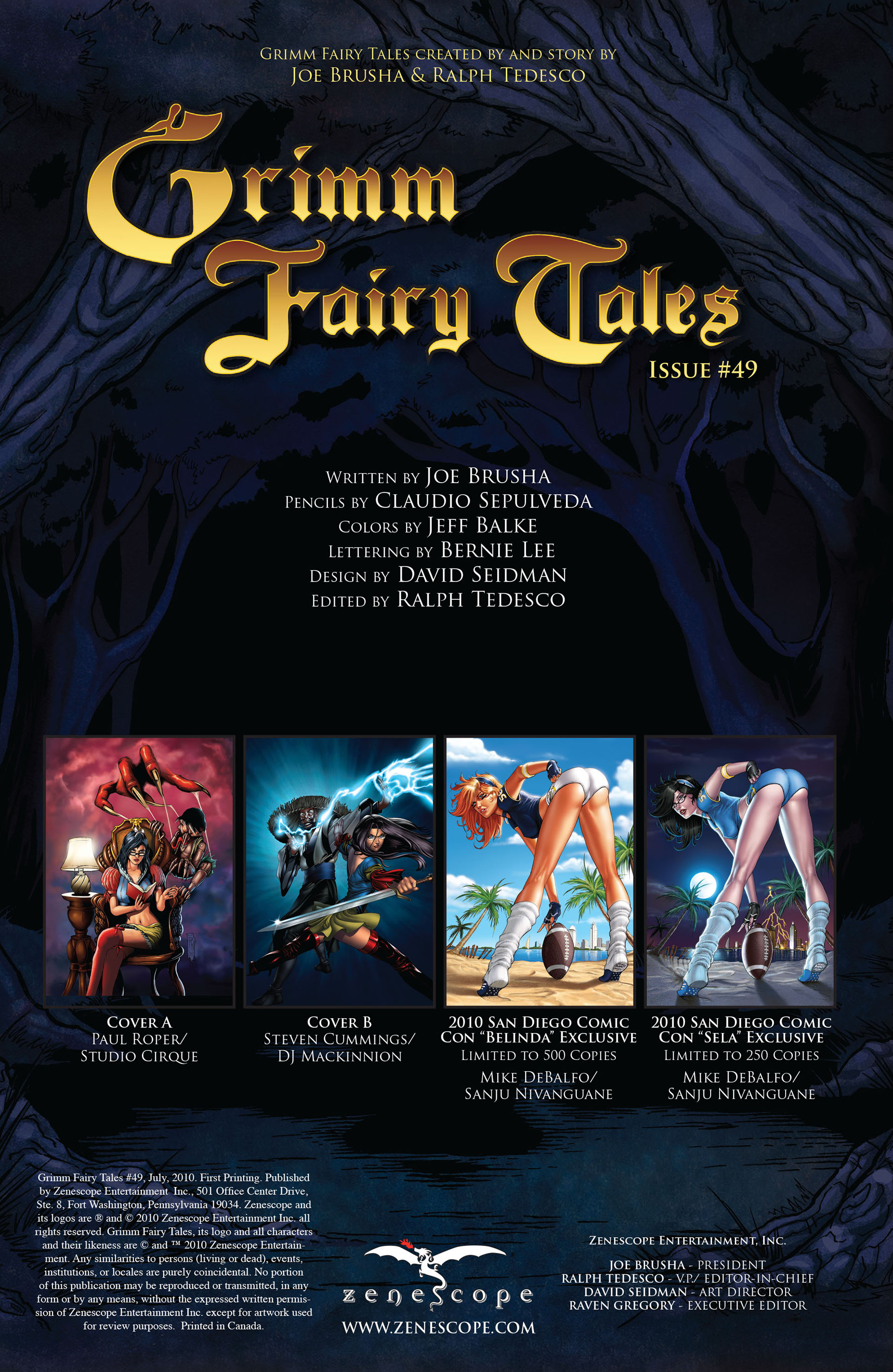 Grimm Fairy Tales (2005) Issue #49 #52 - English 2
