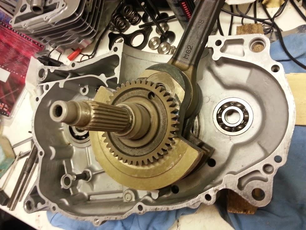 Honda Parts Cheap >> Honda XBR Supermono Development