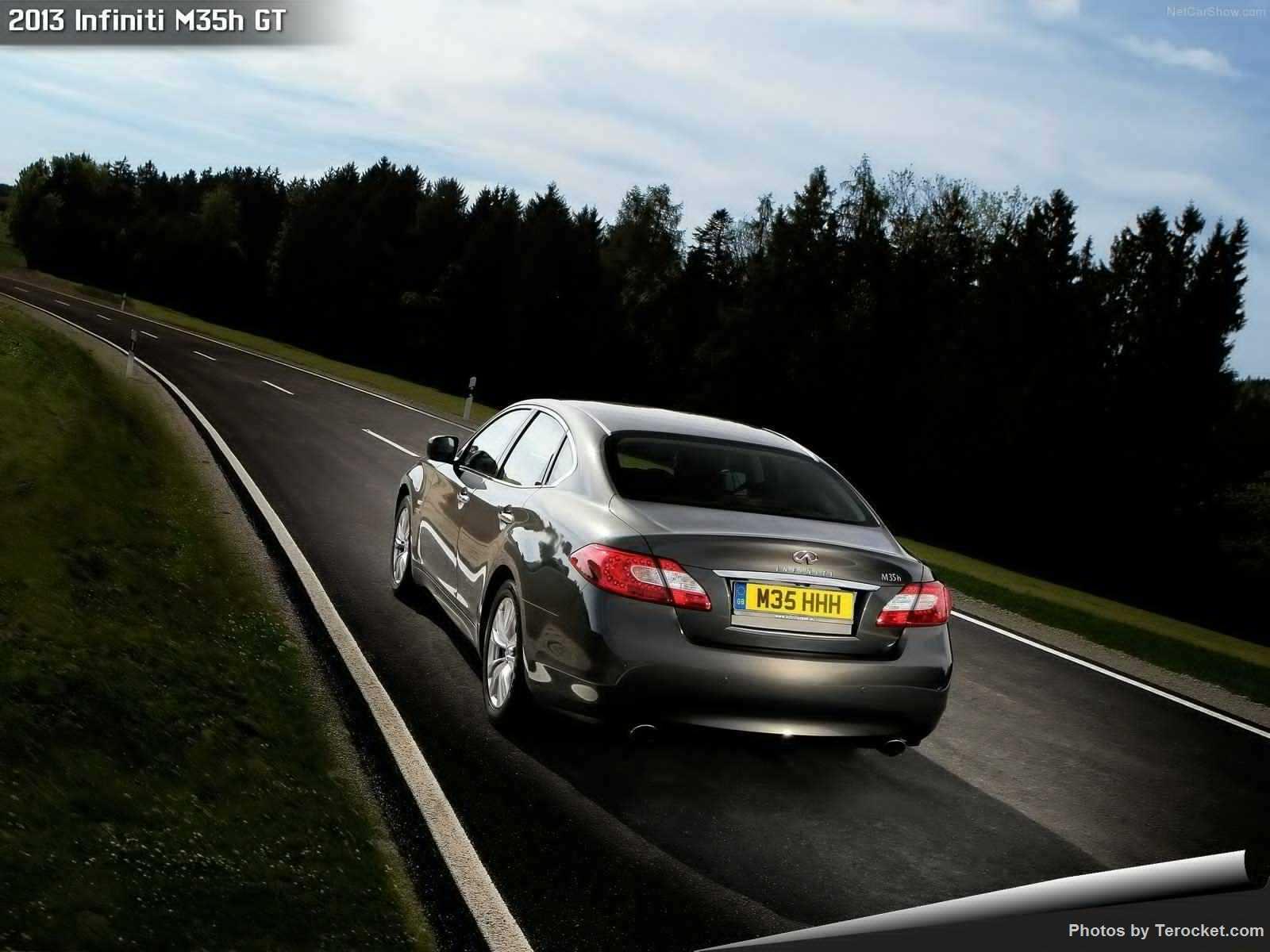 Hình ảnh xe ô tô Infiniti M35h GT 2013 & nội ngoại thất