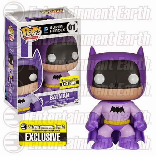 Entertainment Earth Exclusive The Rainbow Batman Pop! Series by Funko - Purple Batman