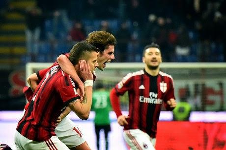 Liga italia : AC Milan 3-1 Parma