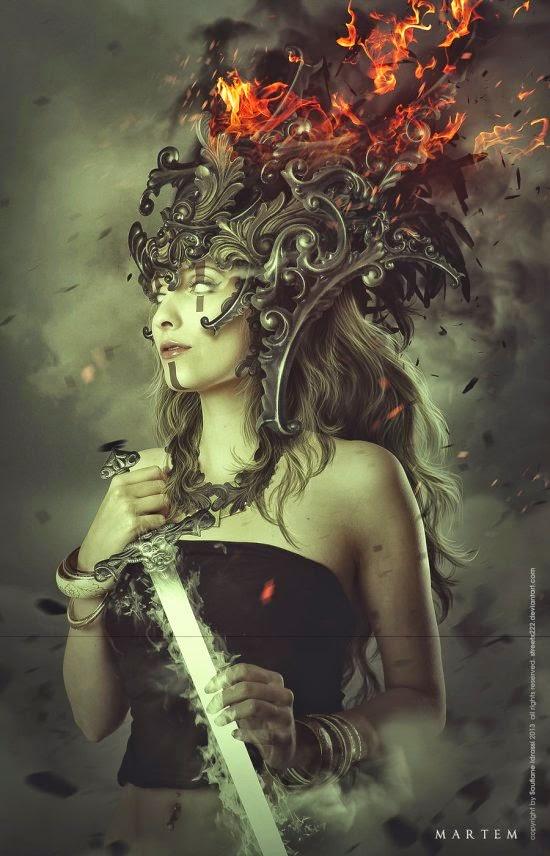 Idrassi Soufiane streetx222 deviantart ilustrações photoshop foto manipulações ficção científica fantasia mulheres