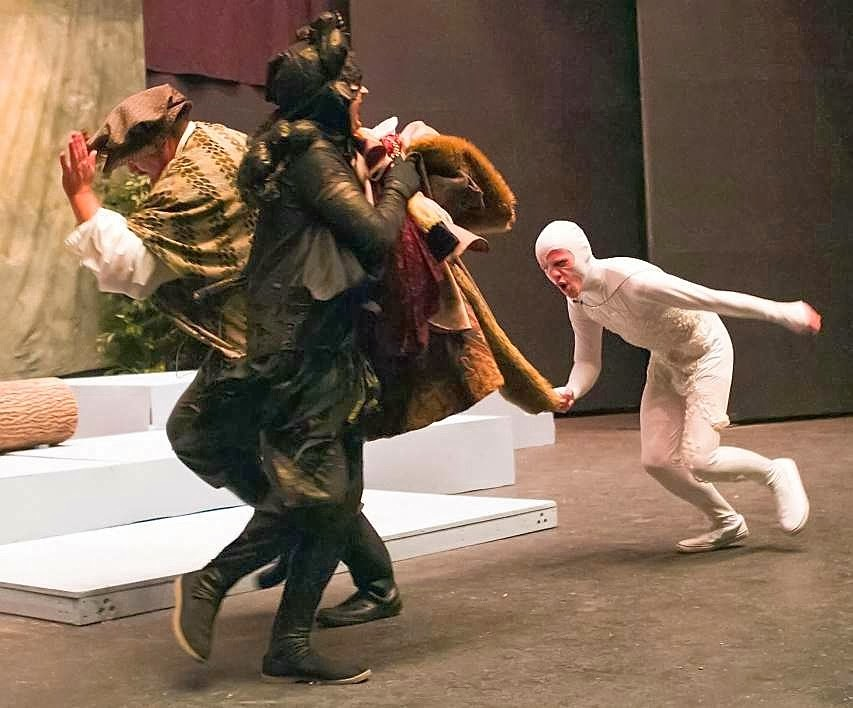 claiming caliban In this version of the story, prospero is patient and forgiving while caliban is evil   nature of their relations, claiming rape for her once again, stealing her voice.
