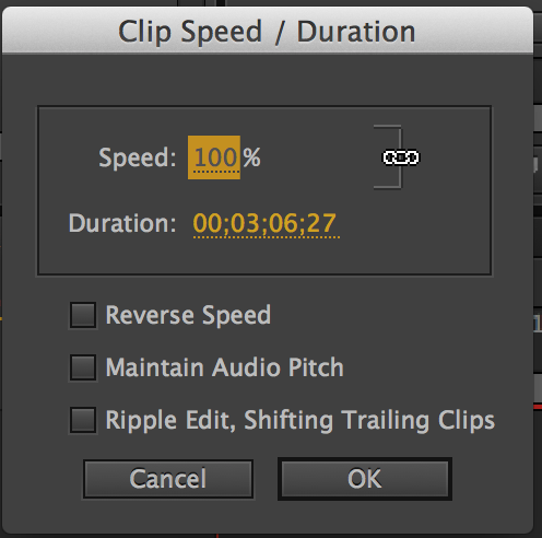how to change video speed without changing pitch