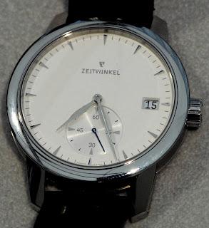 Montre Zeitwinkel 181° silver