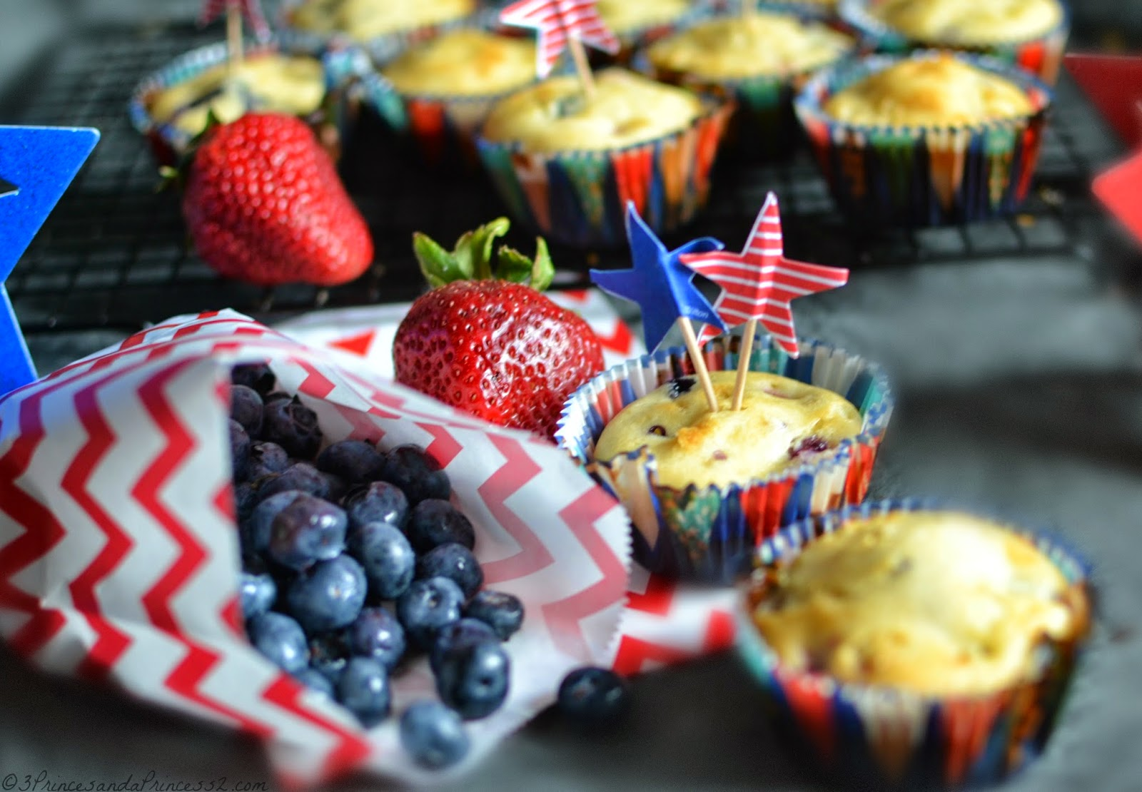 Patriotic muffin recipes