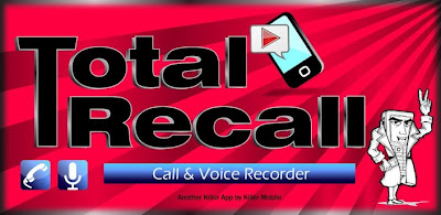 Call Recorder Total Recall FULL Android Application
