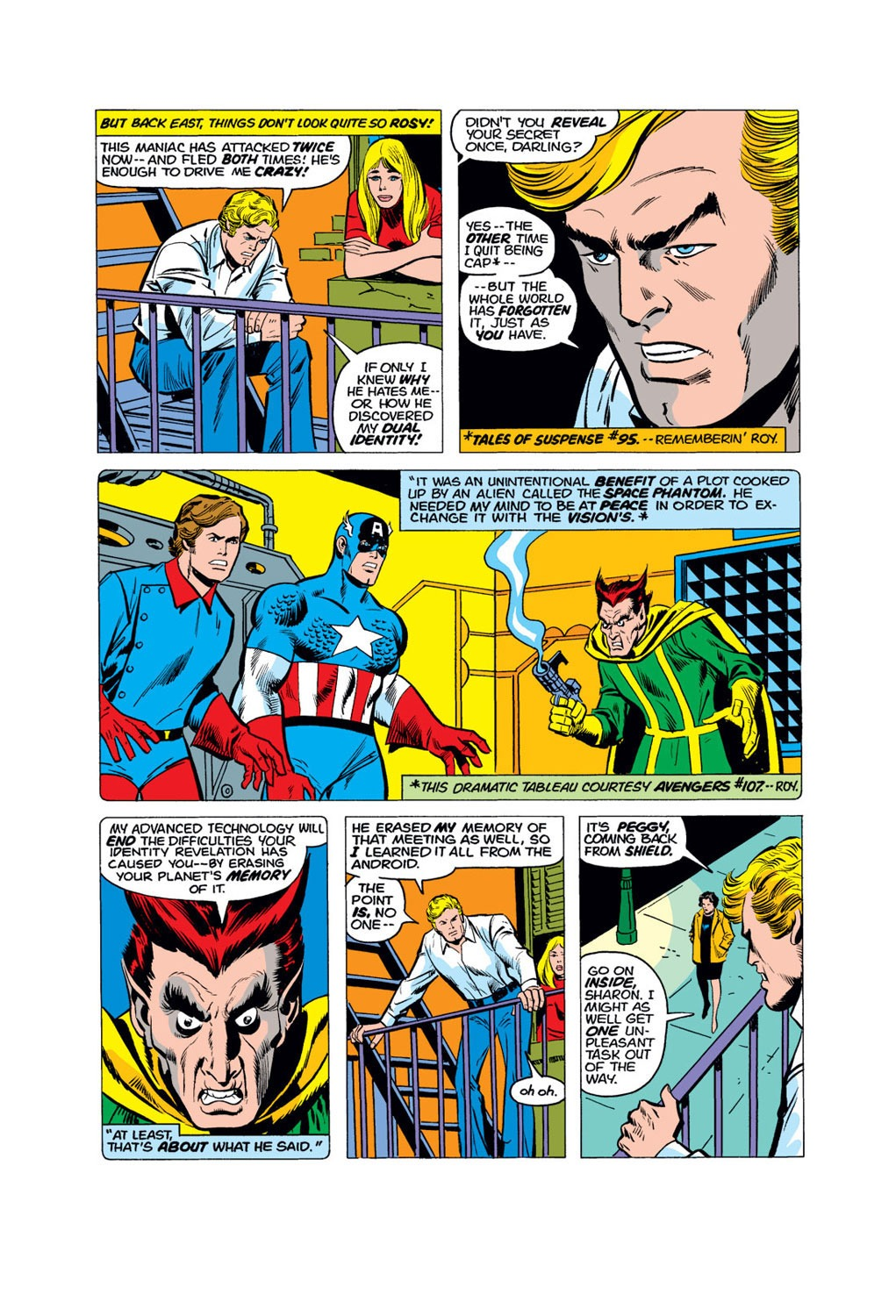 Captain America (1968) Issue #179 #93 - English 9