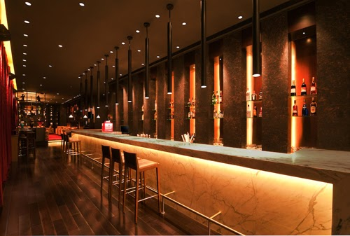 Linear Bar at Hilton Hotel, Pune, India