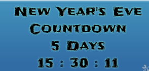 New Year Countdown Widget
