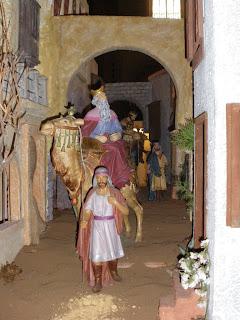 Nacimiento en la Catedral de Sevilla - Reyes Magos