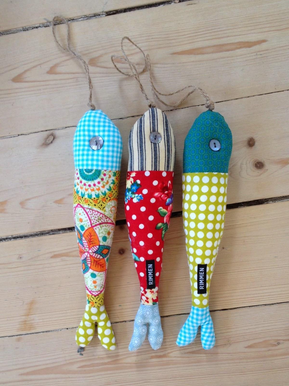 Hanne Rimmen: Sjove fisk i 1000 glade farver