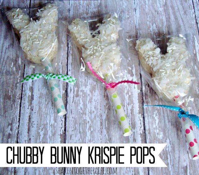 Chubby Bunny Krispie Pops