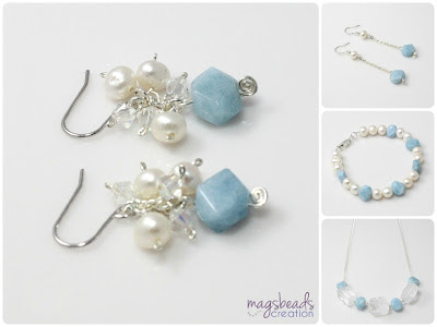 Ice Princess - Winter Collection 2012 by MagsBeadsCreation