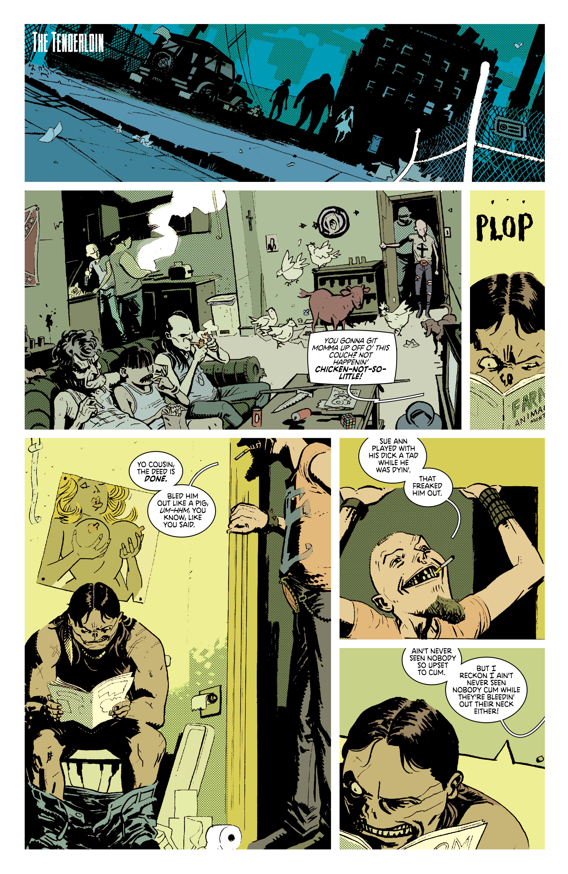 Read online Deadly Class comic -  Issue #7 - 21
