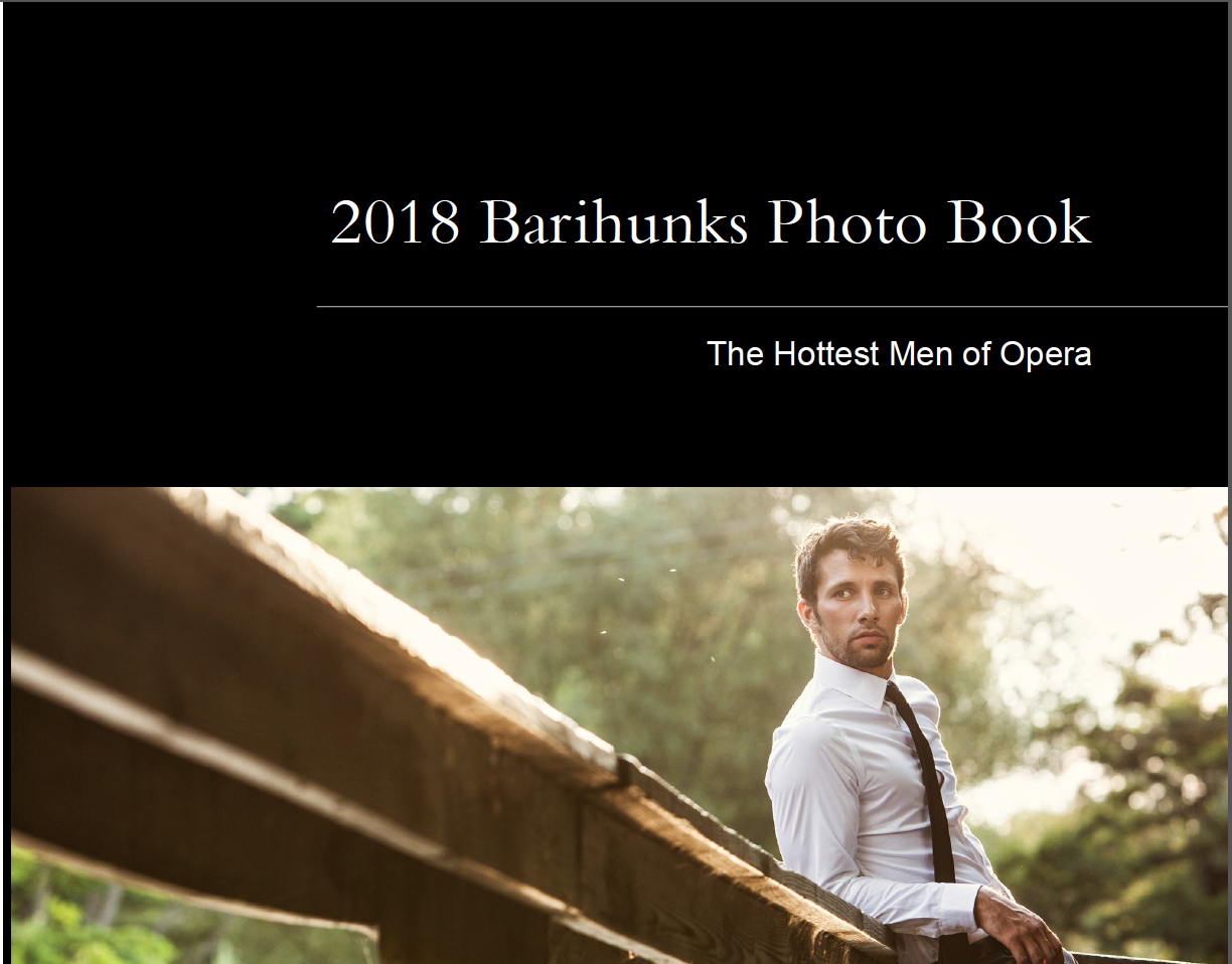 2018 Barihunks Photo Book