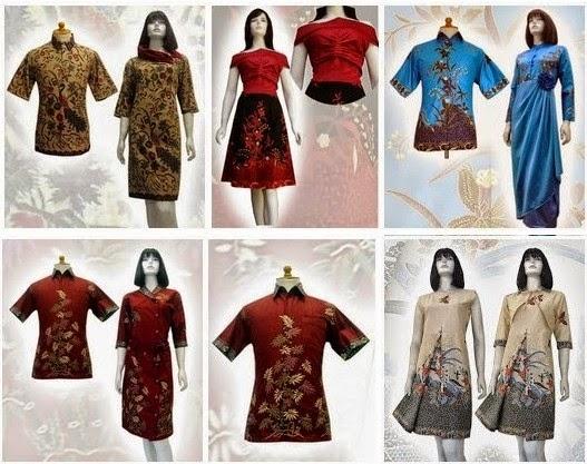 model baju batik assidiq terbaru 2014
