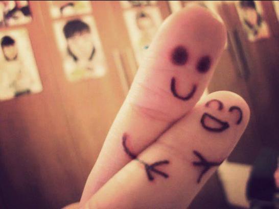 sepasang kekasih lukisan jari sepasang kekasih lukisan jari sepasang ...