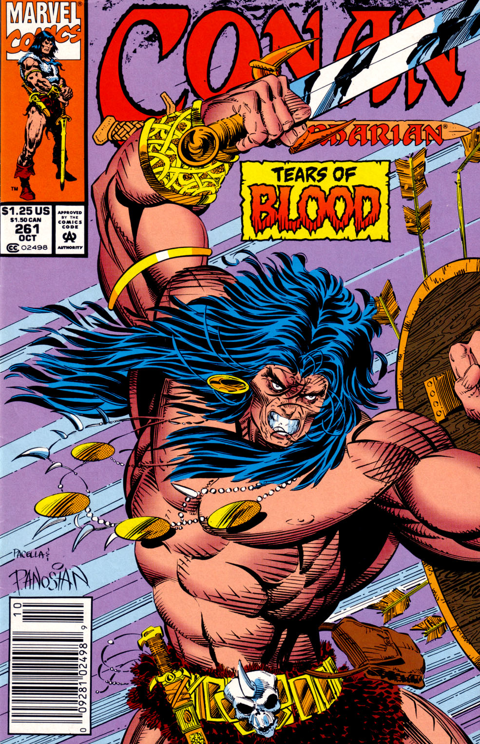 Conan the Barbarian (1970) Issue #261 #273 - English 1