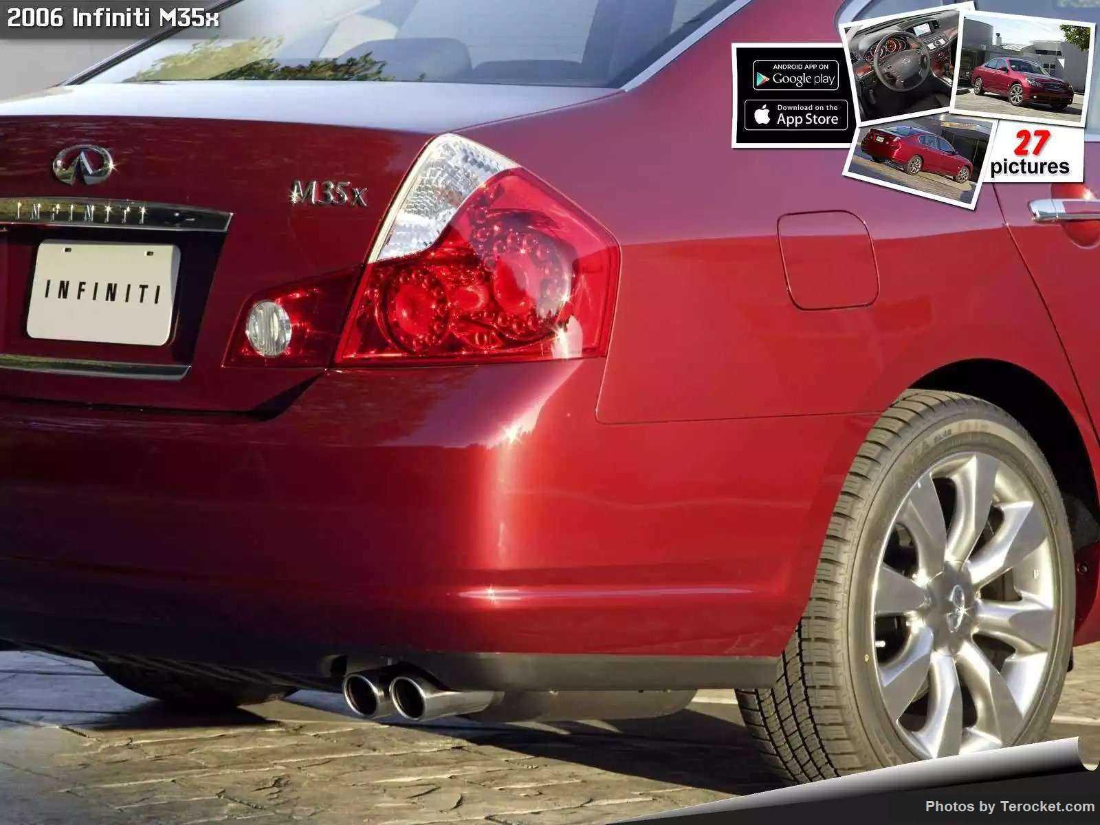 Hình ảnh xe ô tô Infiniti M35x 2006 & nội ngoại thất