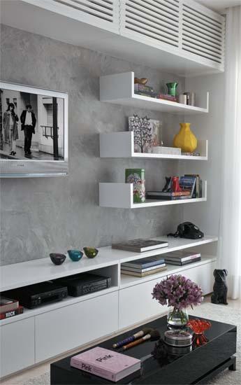 Encanto de casa nova estante para a sala - Estantes para armarios empotrados ...
