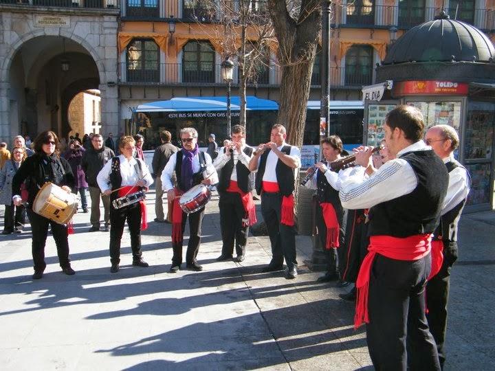 Zocodover. Homenaje Comuneros 2011