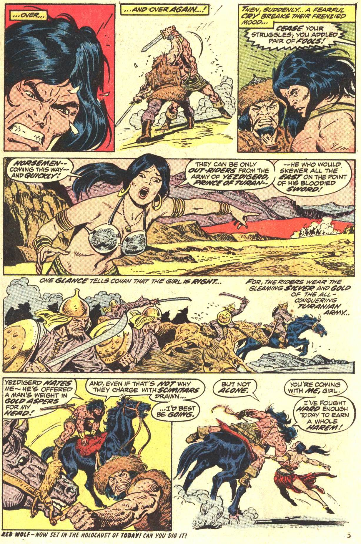 Conan the Barbarian (1970) Issue #27 #39 - English 5