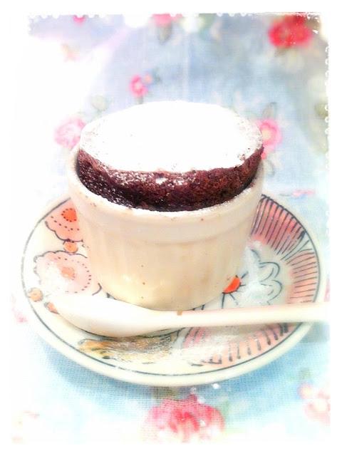 Cherie Kelly's Chocolate Soufflé
