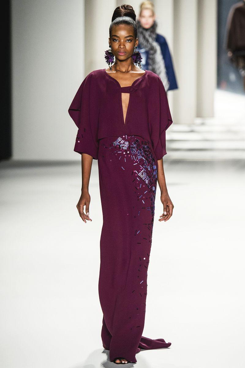 Carolina herrera womenswear fall winter 2014 15 collection event