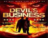 فيلم The Devil's Business رعب