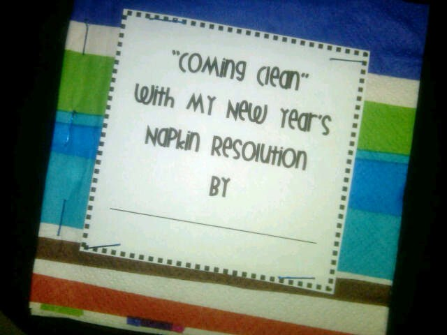 creative writing on new year resolution